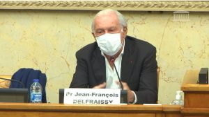 Jean-François Delfraissy auditionné au Parlement