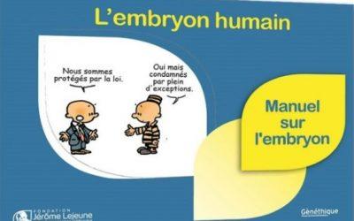 Un manuel sur l'embryon humain