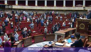 La France se dote d'une 4ème loi dite « bioéthique »
